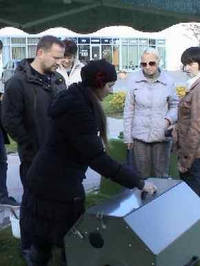 Kompostieru demonstrācija