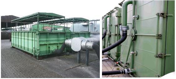 kompostēšanas bioreaktori